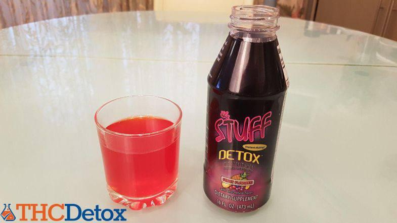 stuff detox in a glass